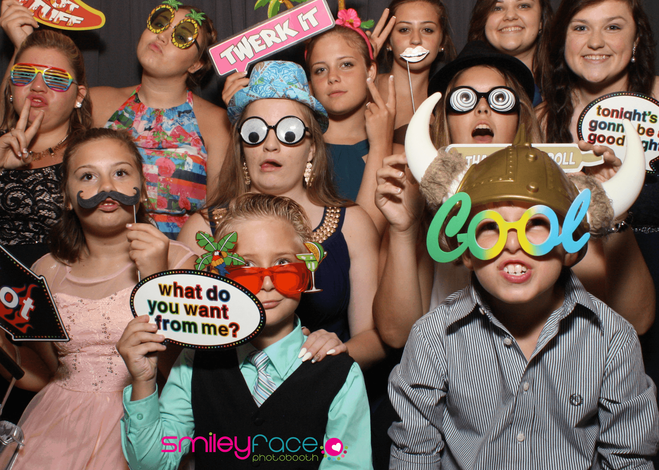 Smiley Face Photobooth