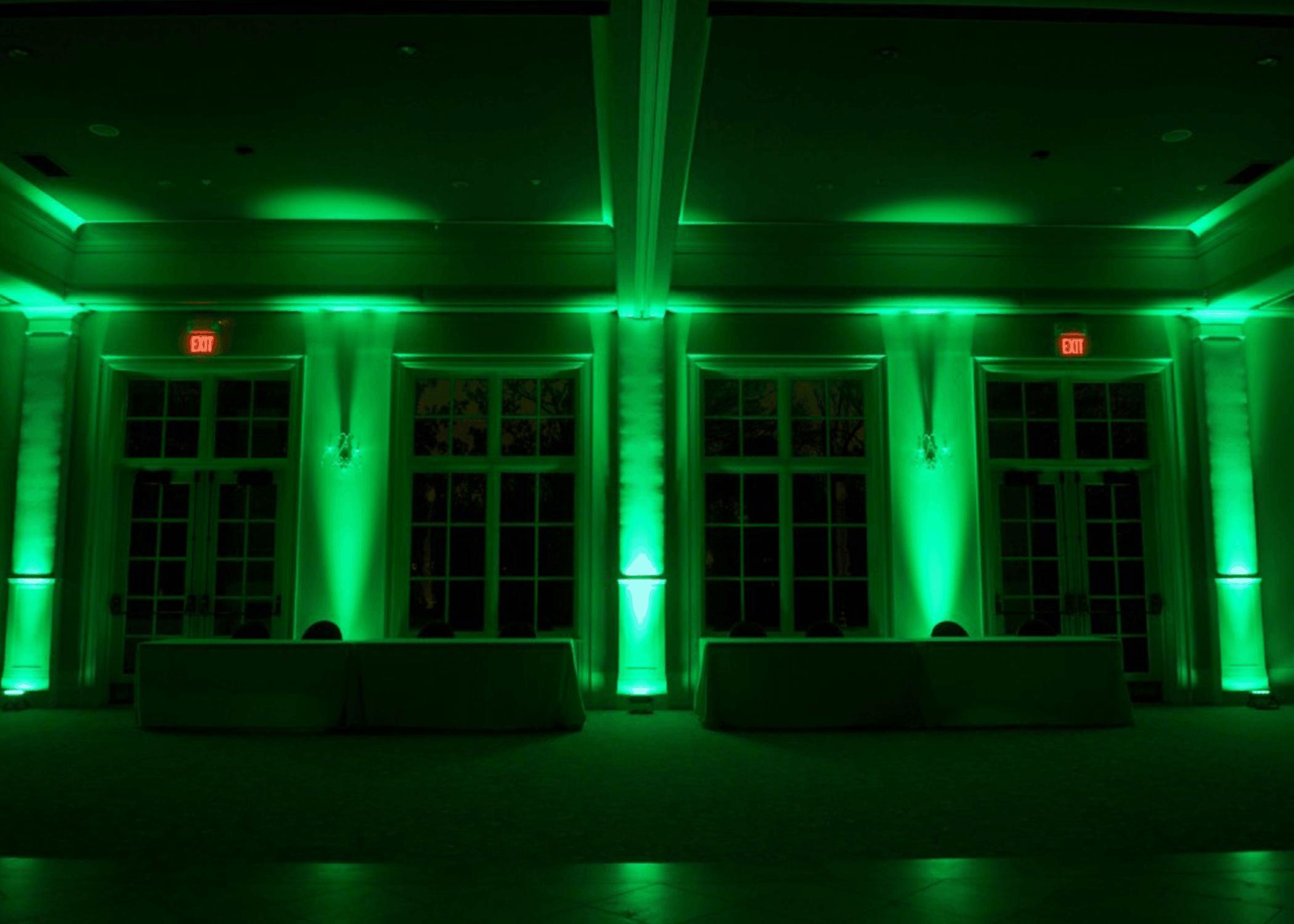 uplights-green